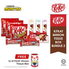 Nestle KITKAT Minion Tissue Box Chocolate Bundle 2