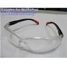 Goggles for Safety & Eye Protection as Workshop Tool