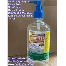 Hand Sanitiser 500ml (Liquid) - Hardex