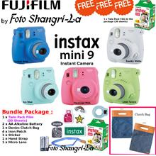 Fujifilm Instax Mini 9 Film Camera Instant Polaroid Camera