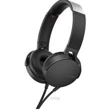 Sony Over-Ear Extra Bass Headphone Black - MDR-XB550APBCE)