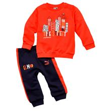 Puma Sesame Crew Jogger Infant Jogger Top and Pant 854493-87)