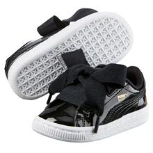 Puma Basket Heart Patent PS Footwear Girl Kids 363352-01)