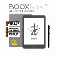 "BOOX Nova2 7.8 "" Android 9 eReader (32GB) with PU Leather Case  & Wacom S)"