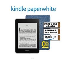 Kindle Paperwhite (10th Gen) 8GB –Includes Special Offers + Stylish OEM Grey)