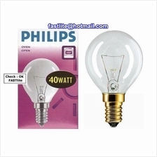 Philips E14 40W 240V Clear 300C Oven bulb for Appliance