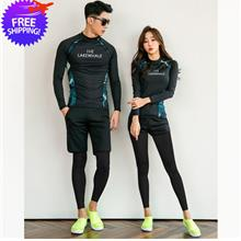 Korean Design Men and Women Couple Muslim Swimming Suit