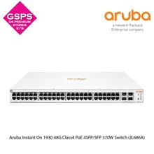 Aruba Instant On 1930 48G Class4 PoE 4SFP/SFP 370W Switch (JL686A)