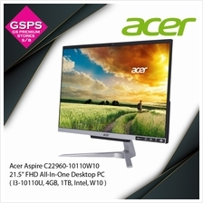 "Acer Aspire C22960-10110W10 21.5 "" FHD All-In-One Desktop PC"