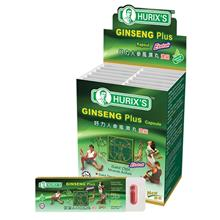 [Carton Packaging] Hurix's Ginseng Plus Capsule (6's x 12 blisters)