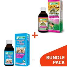 [BUNDLE] Hurix's Sirap Gamat & Madu Plus + Fever & Cold Syrup for Children (