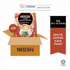 NESCAFE White Coffee Kaya Toast 15ticks x 36g x 24 packs (Carton)