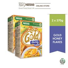Nestle Gold Honey Flakes 370g x 2 Box