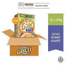 Nestle Gold Honey Flakes 370g x 18 Box