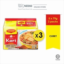New-MAGGI 2-MINN Curry 5x79g x 3 (Bundle of 3)