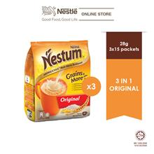 NESTLE NESTUM Original 3in1 15s, 28g Bundle of 3