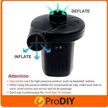 PORTABLE Air Inflatable Pump Ac Electric Air Pump Inflation Pump Defla