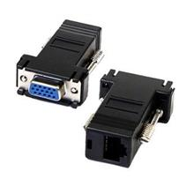 VGA 15 Pin Female to RJ45 Jack Adapter Connector