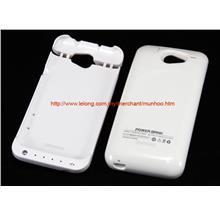 HTC ONE X /+ 3200mAh POWERBANK Battery Charger Casing White Case