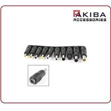 1pc DC Power 5.5x2.1mm to Various Notebook Plug Adapter for Laptop