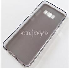 Soft Jacket Silicon Plain TPU Jelly Case Samsung Galaxy S8+ Plus ~6.2""