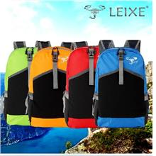 LEIXE PREMIUM LADY PORTABLE TRAVEL BACKPACK 100% NYLON WATER PROOF