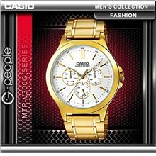 CASIO MTP-V300G-7A MEN'S MULTI-HAND WATCH ☑ORIGINAL☑