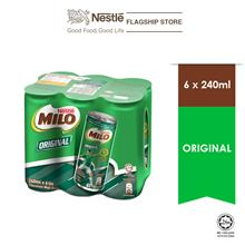 NESTLE MILO ACTIV-GO ORIGINAL CAN 6x240ML