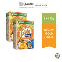 NESTLE GOLD HONEYFLAKES RAYA 18x370g x 2 packs