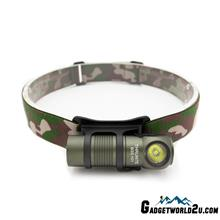 ThruNite BSS H01 Green CREE XP-G3 CW LED 687L USB Rechargeable Headlam