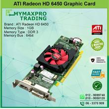 ATI Radeon HD 6450 1GB DDR3 64bit DVI Display Port Graphic Card 0WH7F