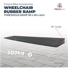 Wheelchair Rubber Threshold Ramp 90 x 20 x 4cm