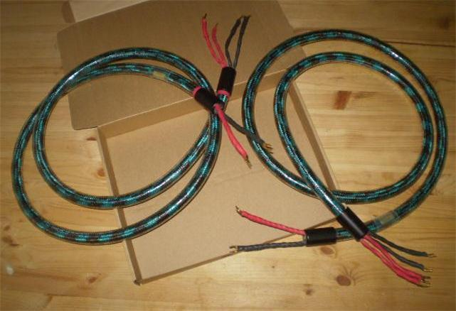 """STEREOPHILE """"Recomended"""" STRAIGHT WIRE Serenade Speaker Lead 2.5m ..."""