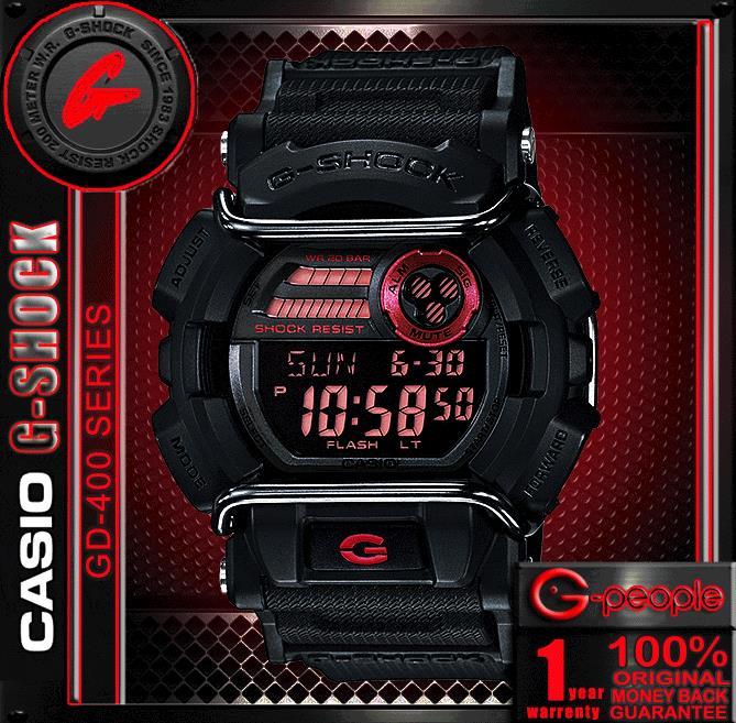 f9d9778d1 CASIO G-SHOCK GD-400-1 WATCH ☑ (end 4 29 2019 6 00 PM)