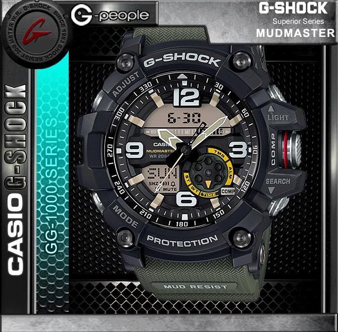 CASIO G-SHOCK GG-1000-1A3 MUDMASTER (end 2 28 2020 12 52 AM) 2527ff4ed562