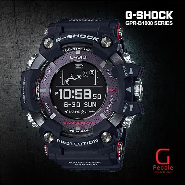 96bdfbde2 CASIO G-SHOCK GPR-B1000-1 RANGEMAN (end 11 22 2019 4 28 PM)
