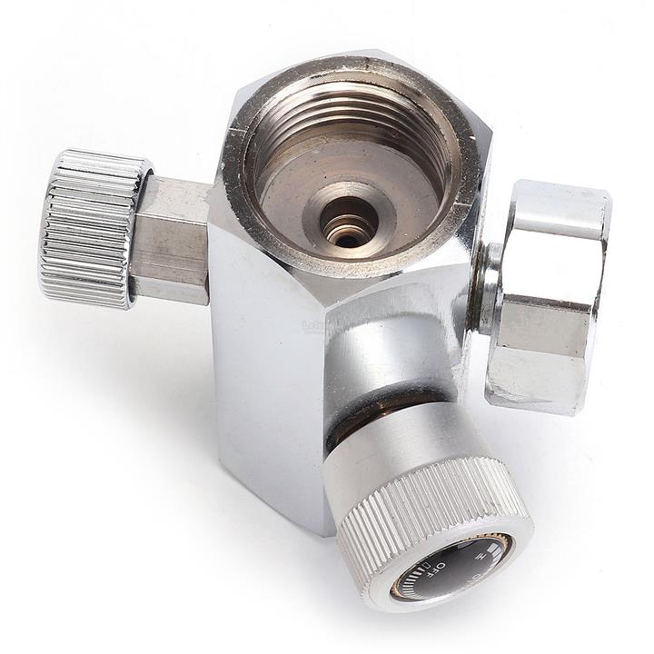 0-2000PSI Homebrew CO2 Cylinder Refill Adapter Connector DIN 477 W21 8