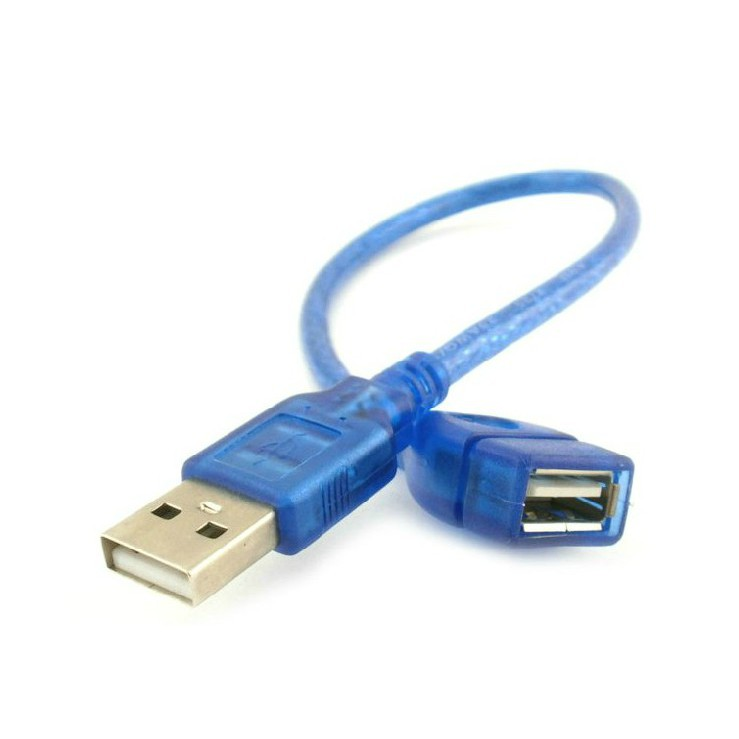 0.3M High Speed USB 2.0 Extension Cable AM to AF