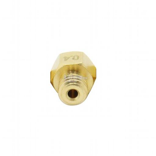 0.4mm MK8 M6 Thread Nozzle For 1.75mm Filament Extruder