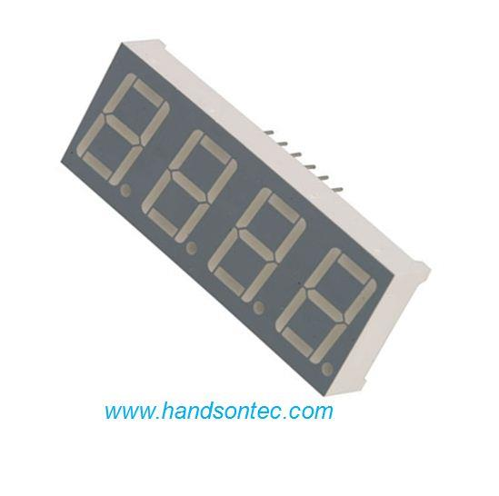 0.52″ Quad Digit 7-Segment LED Display/Red.