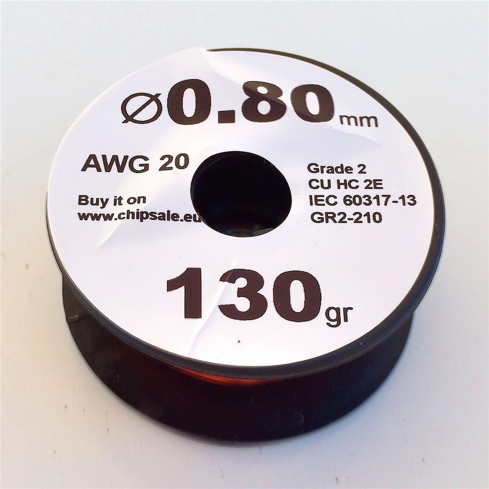 0.8mm 20 AWG Gauge 130g 27 Meters Ena (end 5/3/2019 9:15 PM)
