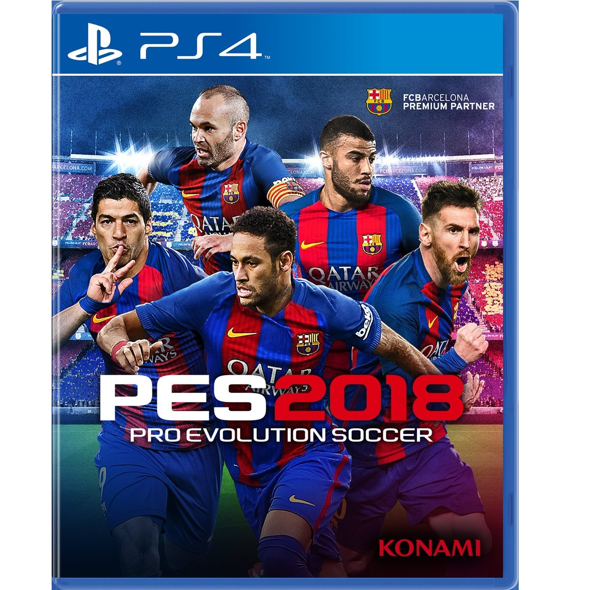 0% GST  PS4 PRO EVOLUTION SOCCER PES 2018 R2 PREMIUM EDITION. ‹ › a94f999b5ee4a