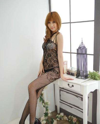 00016 Sexy Nightwear Lingerie Teddies Stocking Garter Stockings
