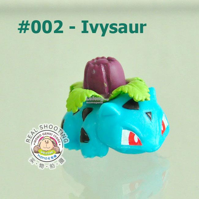 002 Ivysaur Pokemon Pikachu Collective Figures Toy Doll