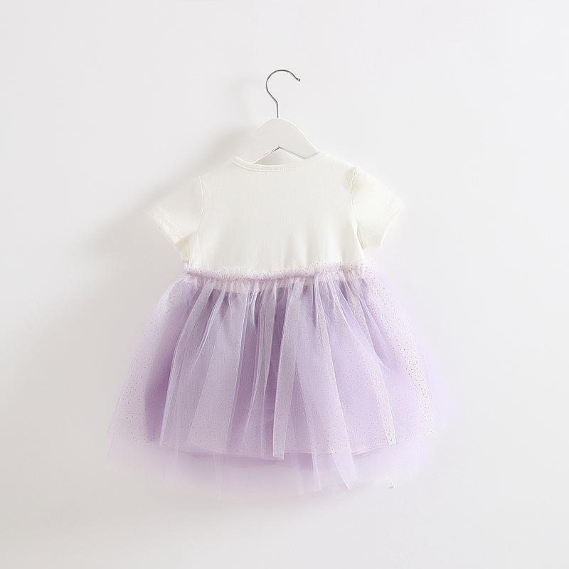 00401 Baby Girl Big Bow Knot Dress
