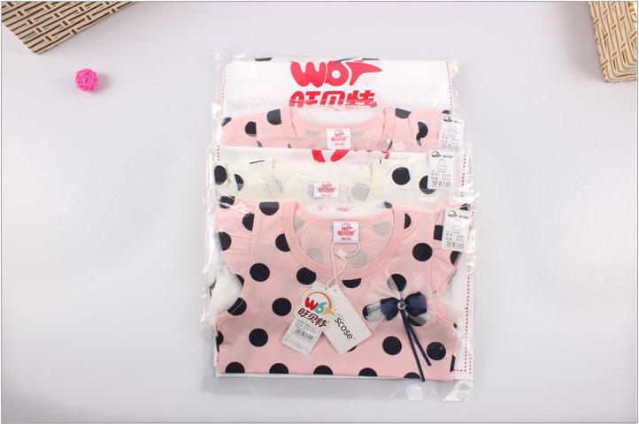 00407 Girl Dots Gauze Dress