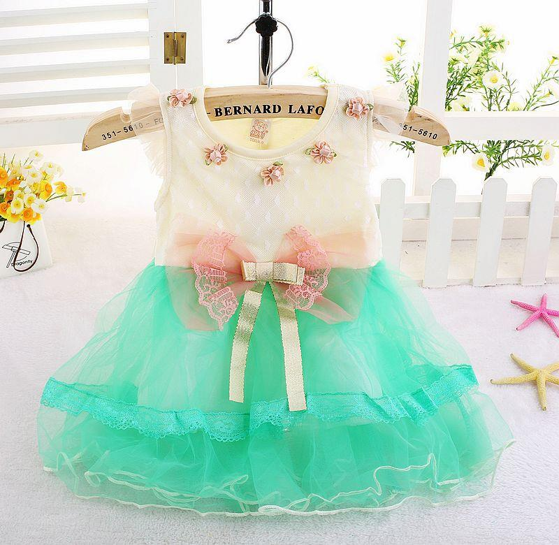 00415 Baby Girl Princess Chiffon Dress