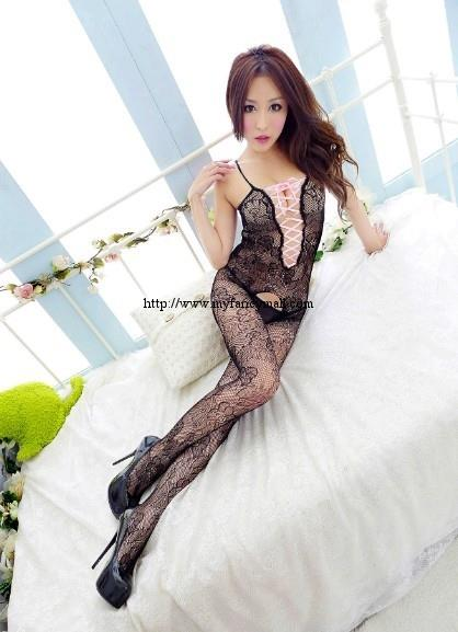 00721 Sexy Nightwear Lingerie Teddies Stocking Garter Stockings