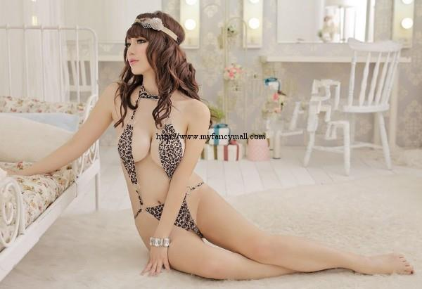 00941 Conjoined clothes Sexy Bikini pajamas onesies Nightwear Lingerie