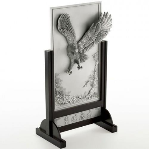 013510 Oriental Eagle Plaque
